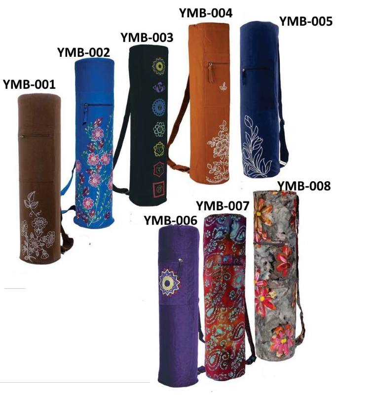 Yogatillbehör från Indien Köp yogamattor, väskor, kuddar